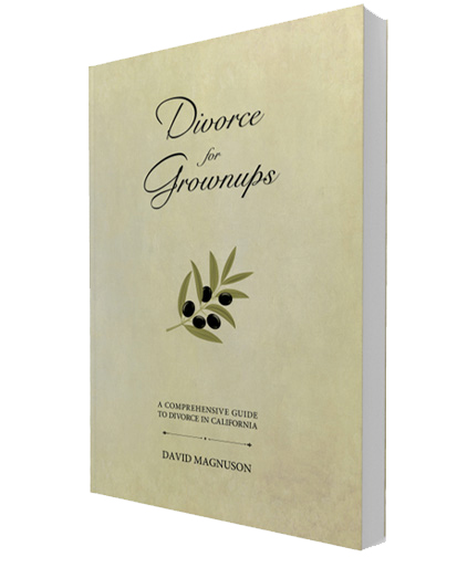 "Divorce mediation book - ""Divorce for Grownups"""